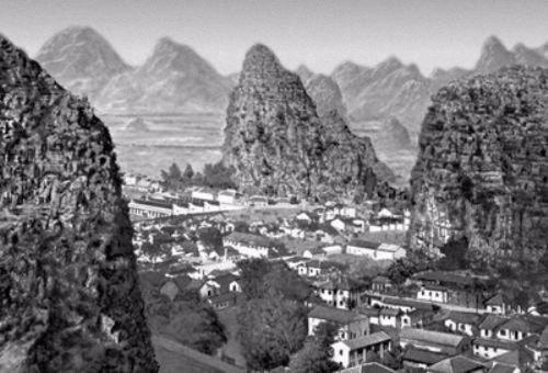 Hiện tượng kỳ lạ này cũng điển hình cho một thung lũng chết khác ở Trung Quốc