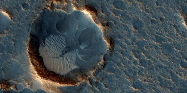 NASA công bố ảnh thực nơi đổ bộ trong phim về sao Hỏa
