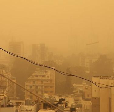 Chiến sự Syria gây bão cát bất thường ở Trung Đông