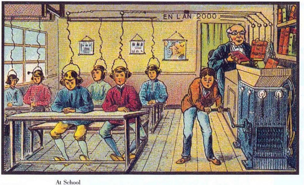 Những phát minh trong trí tưởng tượng 100 năm trước