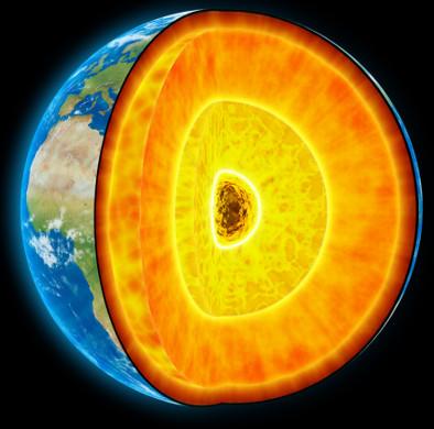 Từ trường Trái Đất mới hơn nửa tuổi đời