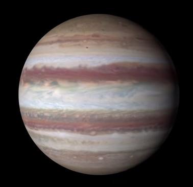 Vết đỏ lớn của sao Mộc đang nhỏ dần đi