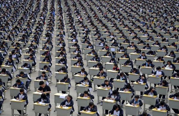 20 bức ảnh về sự đông đúc của Trung Quốc