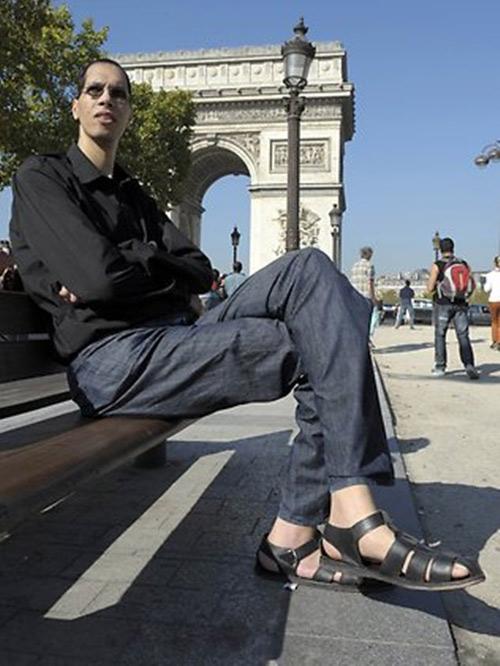 Những bàn chân kỳ lạ trên thế giới