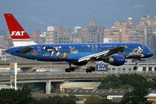 Những máy bay ngộ nghĩnh