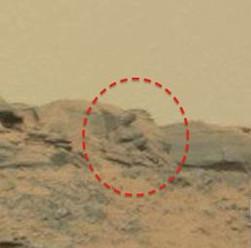 Phát hiện tượng Phật trên sao Hỏa