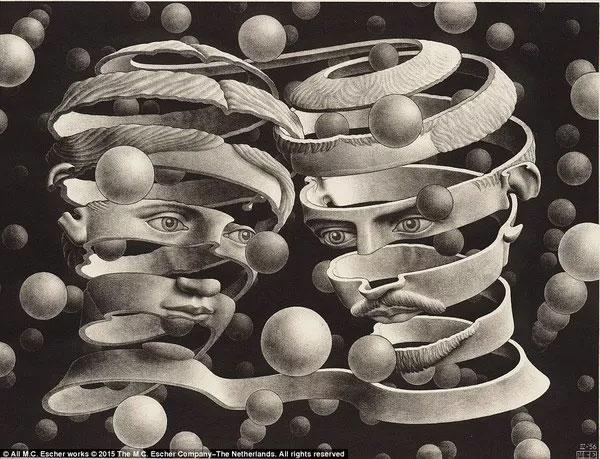 """Bộ tranh ảo ảnh thị giác khiến người xem """"không biết đâu mà lần"""""""
