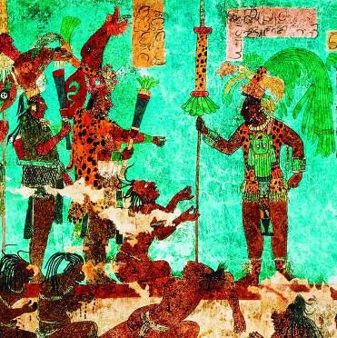 Tục trích máu tế thần linh của người Maya cổ