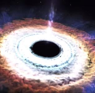 Video: Khoảnh khắc siêu hố đen xé toạc và nuốt chửng một ngôi sao