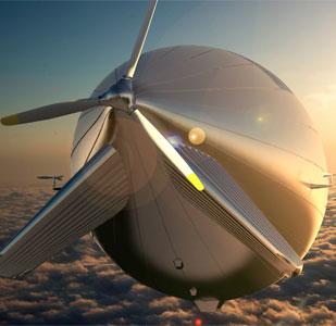 Khinh khí cầu lớn nhất thế giới chạy bằng năng lượng mặt trời