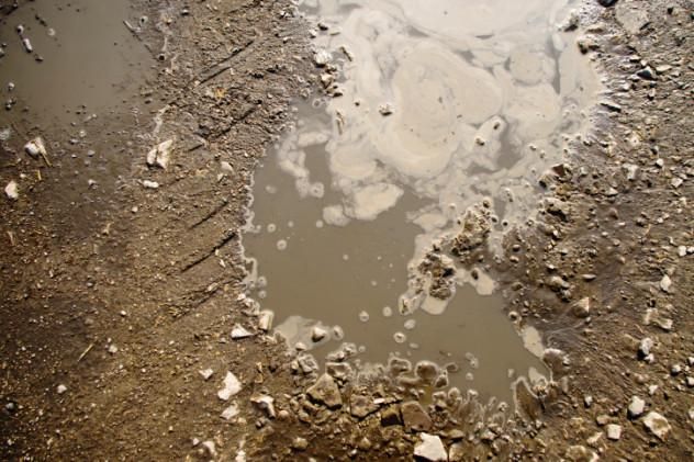 Đất hóa lỏng cũng là một trong những tác động xấu của động đất