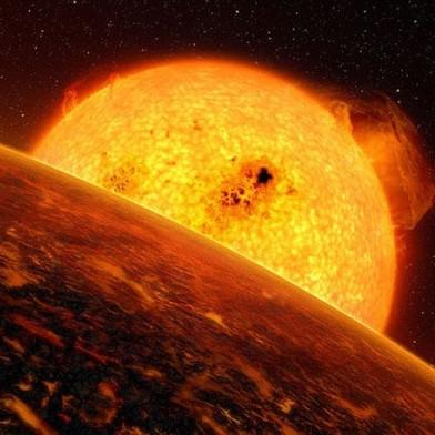 Địa ngục núi lửa trong vũ trụ
