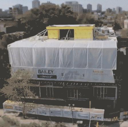 Xây nhà từ nóc đã trở thành hiện thực