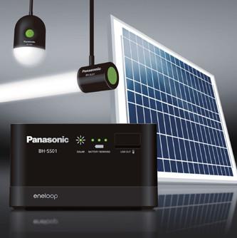 Hệ thống lưu trữ năng lượng mặt trời cung cấp cho vùng thiếu điện của Panasonic