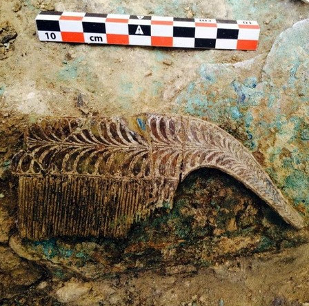 Phát hiện ngôi mộ chiến binh 3.500 tuổi ở miền Nam Hy Lạp