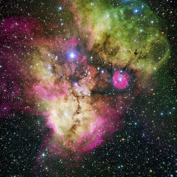 Những hình ảnh ma quái trong vũ trụ
