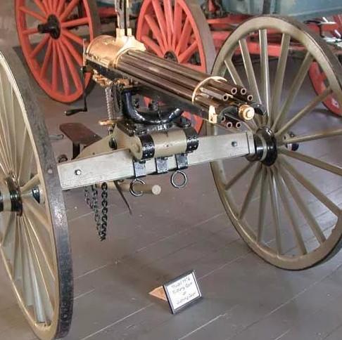 """Ngày 4/11/1862, súng máy """"6 nòng"""" Gatling chính thức ra đời"""