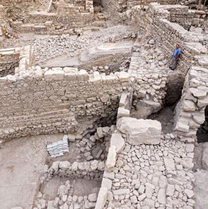 Phát hiện pháo đài Hy Lạp cổ dưới nền Jerusalem
