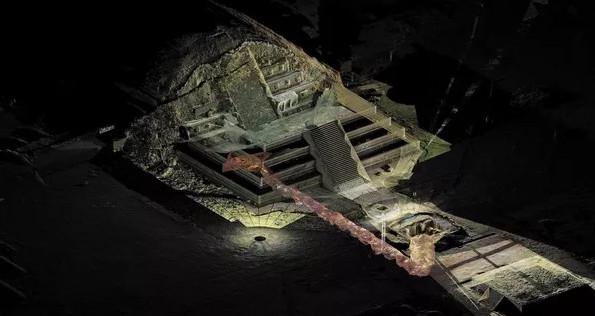 Dòng sông thủy ngân trong lăng mộ của Tần Thủy Hoàng.