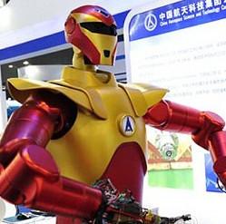 """Trung Quốc chế tạo robot """"Người sắt"""" thám hiểm vũ trụ"""