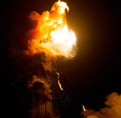 NASA phát hành ảnh ghi lại vụ nổ tên lửa Antares năm ngoái