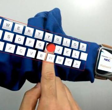 Biến cánh tay thành bàn phím ảo