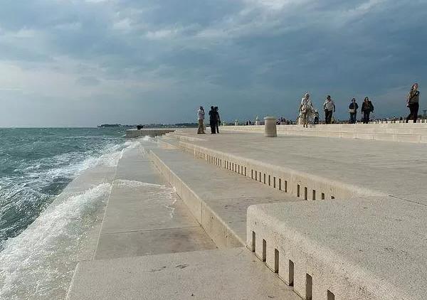 Organ biển - Cây đàn vĩ đại vận hành bằng sóng và gió