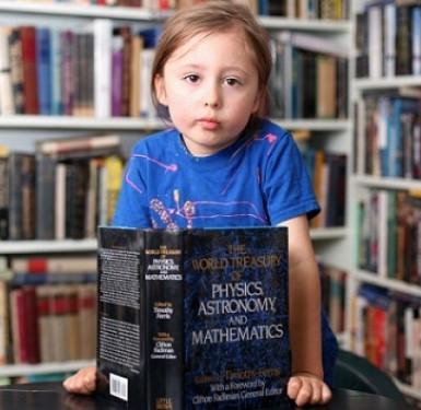 Thần đồng 5 tuổi có tài ngoại cảm ở Mỹ