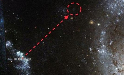 """Phát hiện """"siêu cấu trúc"""" UFO trên bầu trời Australia"""