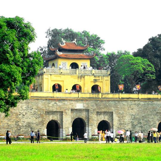 Khu di tích trung tâm Hoàng Thành Thăng Long - Hà Nội
