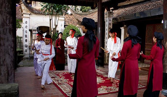 Hát xoan ở Phú Thọ - Di sản văn hóa phi vật thể thế giới tại Việt Nam