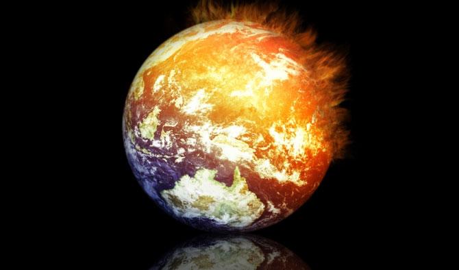 Nhiệt độ toàn cầu tăng lên mức báo động