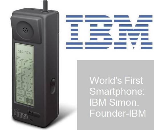 23/11/1992 - Chiếc smartphone đầu tiên của thế giới được IBM giới thiệu