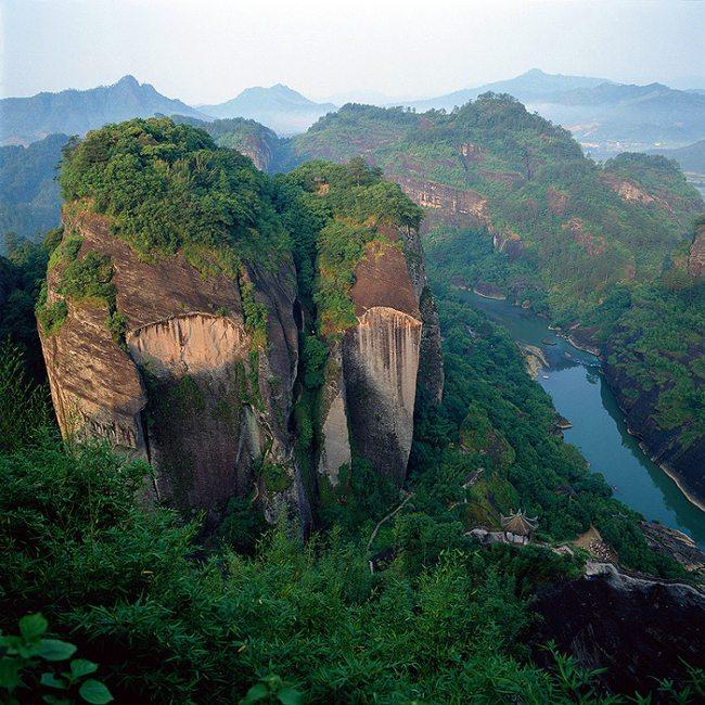 Thắng cảnh Vũ Di Sơn - Di sản hỗn hợp của Trung Quốc
