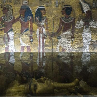 Ai Cập khảo sát thêm mộ Tut tìm Nữ hoàng Nefertiti