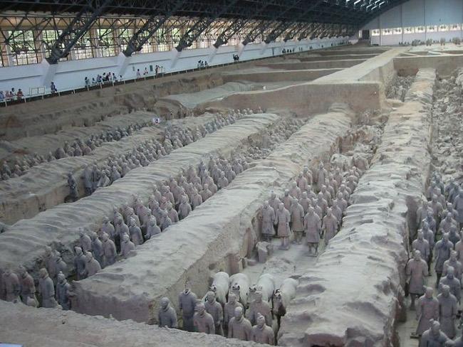 Lăng mộ Tần Thủy Hoàng - Trung Quốc