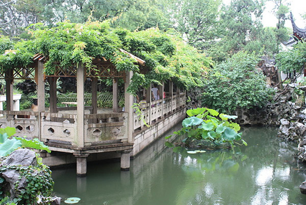 Vườn cây cảnh cổ điển Tô Châu - Trung Quốc