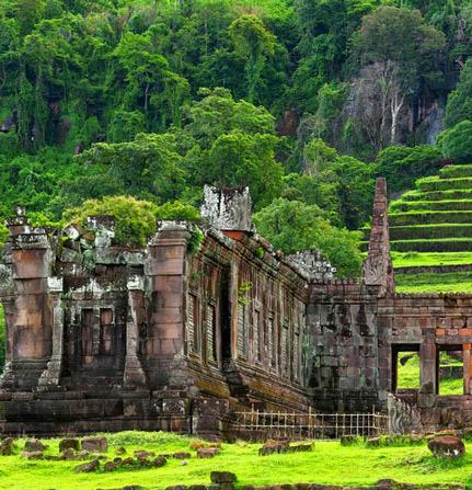 Đền thờ Wat Phou - Lào
