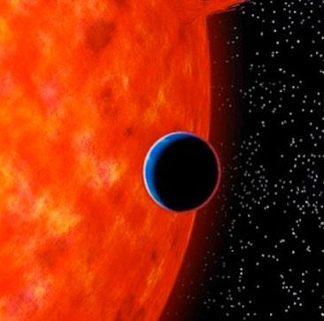 Bản sao Hải vương tinh có bầu trời màu xanh giống Trái Đất