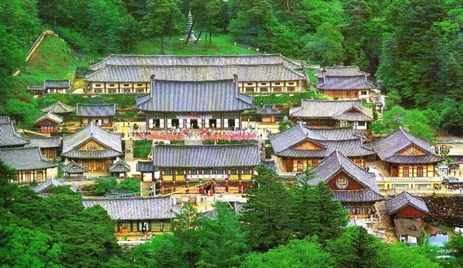 Chùa Haeinsa - Hàn Quốc