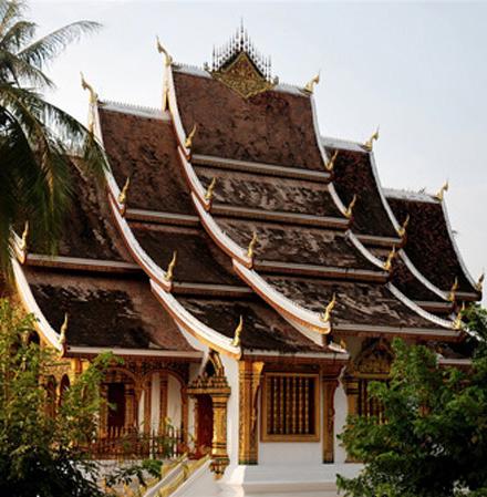 Thành phố Luang Prabang- Lào