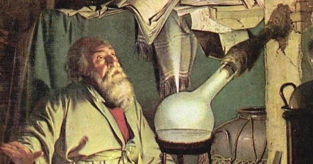 Vô tình tìm ra phốt pho khi tinh luyện nước tiểu để điều chế vàng