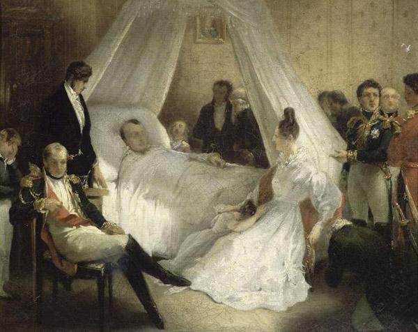 Napoleon qua đời tại St Helena vào ngày 05/05/1821.