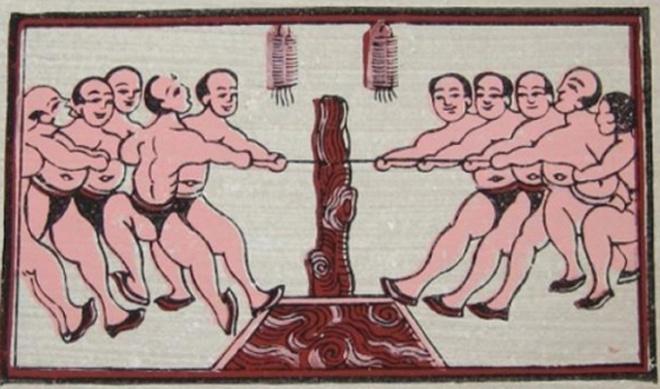 Nghi lễ và trò chơi kéo co - Di sản nhân loại