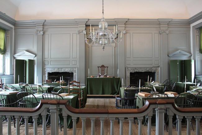 Hội trường độc lập Independence Hall - Hợp chủng quốc Hoa Kỳ