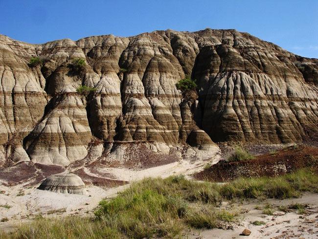 Công viên hóa thạch khủng long - Canada