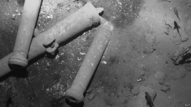 Cuộc chiến tay ba giành kho báu 17 tỷ USD dưới đáy biển
