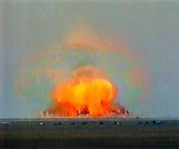 10 vụ nổ kinh hoàng nhất trong lịch sử nhân loại