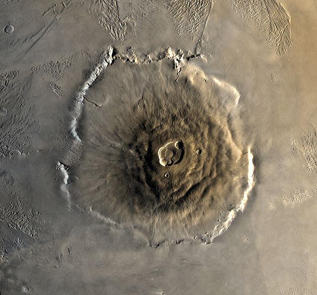 Sao Hỏa có một ngọn núi lớn hơn Everest