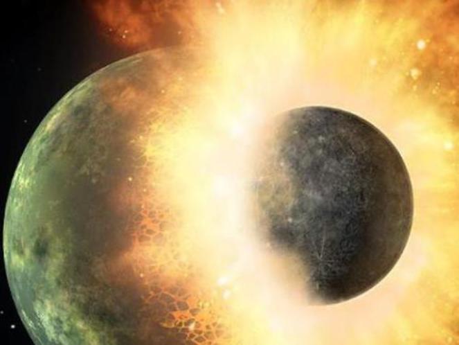 Một hành tinh có kích thước cỡ Sao Hỏa đã đâm vào Trái Đất hàng tỉ năm trước